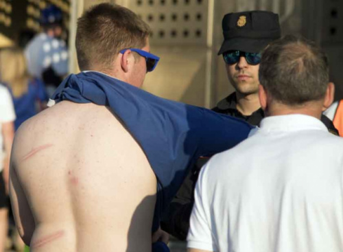 Tribunal de Madri condena oito torcedores do Leicester por desordem