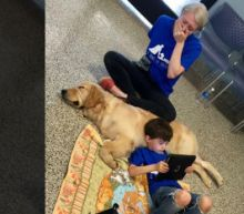 Mom Sobs as Son With Autism Snuggles With New Service Dog: 'The Connection Is Life-Changing'