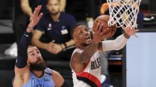 Damian Lillard, Trail Blazers strike first in bubble playoff race with critical OT win over Grizzlies