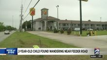 Toddler found walking alone near highway while mom dined with friend, Texas police say