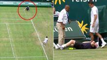'Oh my god': Tennis world rocked by frightening ballboy incident