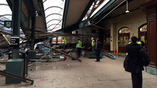 Witnesses recount horrific scene after Hoboken train crash