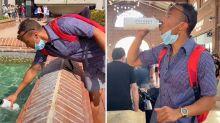 Theme park worker sacked after TikTok water fountain stunt