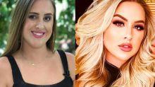 """Ex-BBB Patrícia Leitte mostra antes e depois e comemora: """"Feliz, realizada e em paz!"""""""