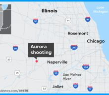 At least five dead, six officers injured as gunman opens fire at Aurora, Ill., plant