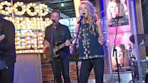 Tegan Marie Performs 'Lucky Me' on 'GMA'