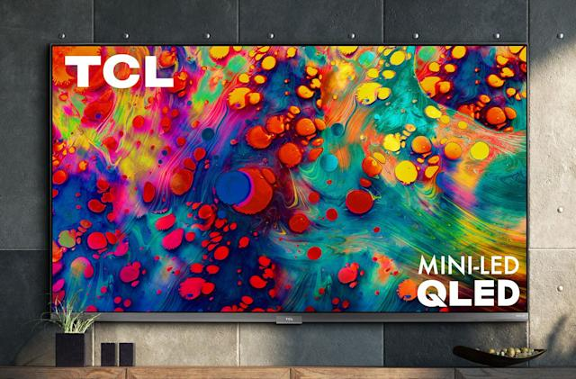 TCL's new 4K TVs offer Mini-LED tech and 120Hz gaming for $650
