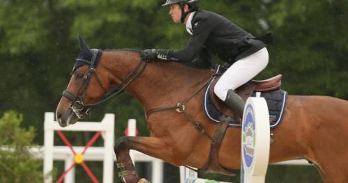 Equitation - Concours complet - Thomas Carlile leader du Grand National à Saumur
