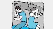 從睡姿能反映感情關係!10個超準睡姿大測試!