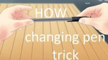 Magician Gives Tutorial on Pen Changing Magic Trick