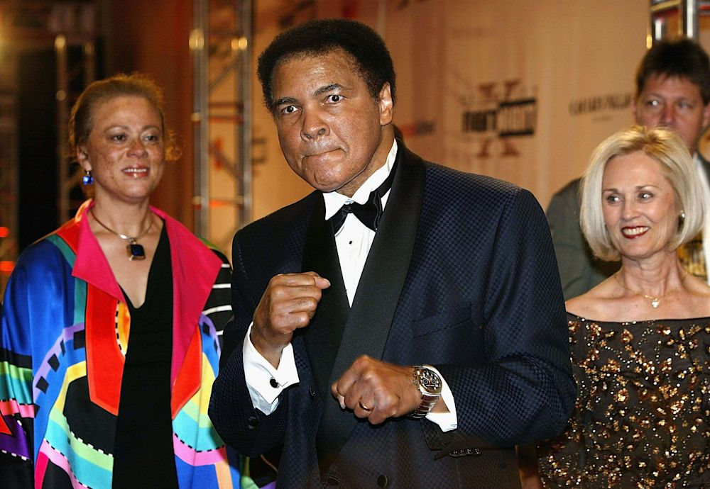 Muhammad Ali was first diagnosed with Parkinson's at the age of 42. (Photo credit: Money)