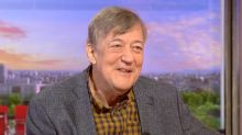 Stephen Fry talks 'impressive' five-and-a-half stone weight loss on BBC Breakfast