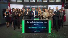 Corus Entertainment Inc. Opens the Market