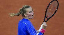Petra Kvitova fights past rising star Leylah Fernandez at Roland Garros