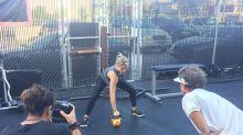 Elsa Pataky en Los Ángeles, ¡descubre su rutina en el gym!
