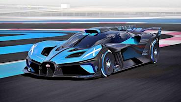 BUGATTI史上最輕且最快的賽道版超跑Bolide發表,0到100加速只要2.17秒
