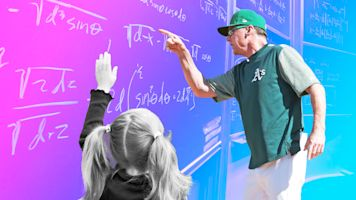 Covering home: MLB parents turned teachers