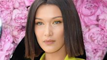Bella Hadid Steps Out in the New Manicure Shade of The Moment