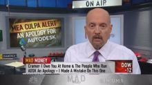 Cramer apologizes for his Autodesk call: It was 'a huge m...