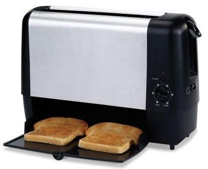 """Trapdoor Toaster releases bread on the bottom, removes trademark """"pop"""""""