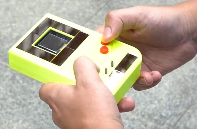 Researchers created a Game Boy that doesn't need batteries