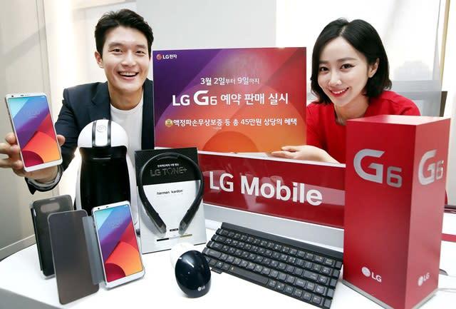 LG G6: 40.000 Vorbestellungen in vier Tagen