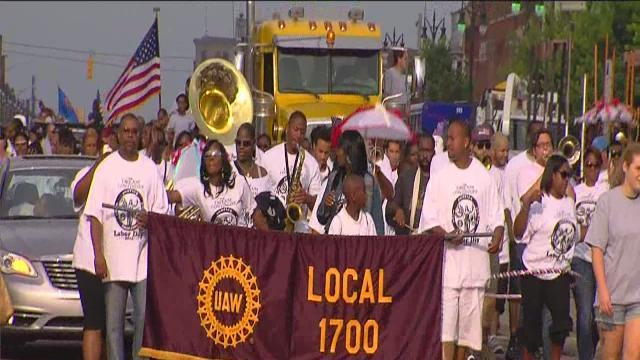 Detroit's Labor Day Parade