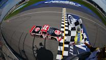 Final Laps: Buescher holds off Busch for win