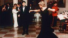 """La intimidad del baile entre John Travolta y Lady Di: """"Me acerco, le toco el hombro..."""""""