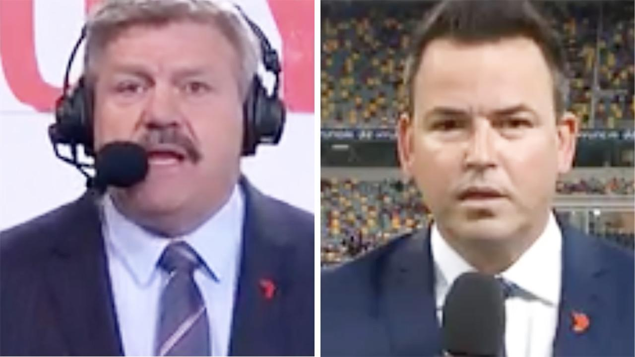 'Come on': Commentators in fiery clash over AFL strip club debacle – Yahoo Sport Australia