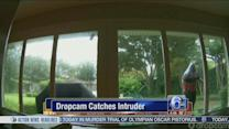 VIDEO: Dropcam catches intruder at Texas home