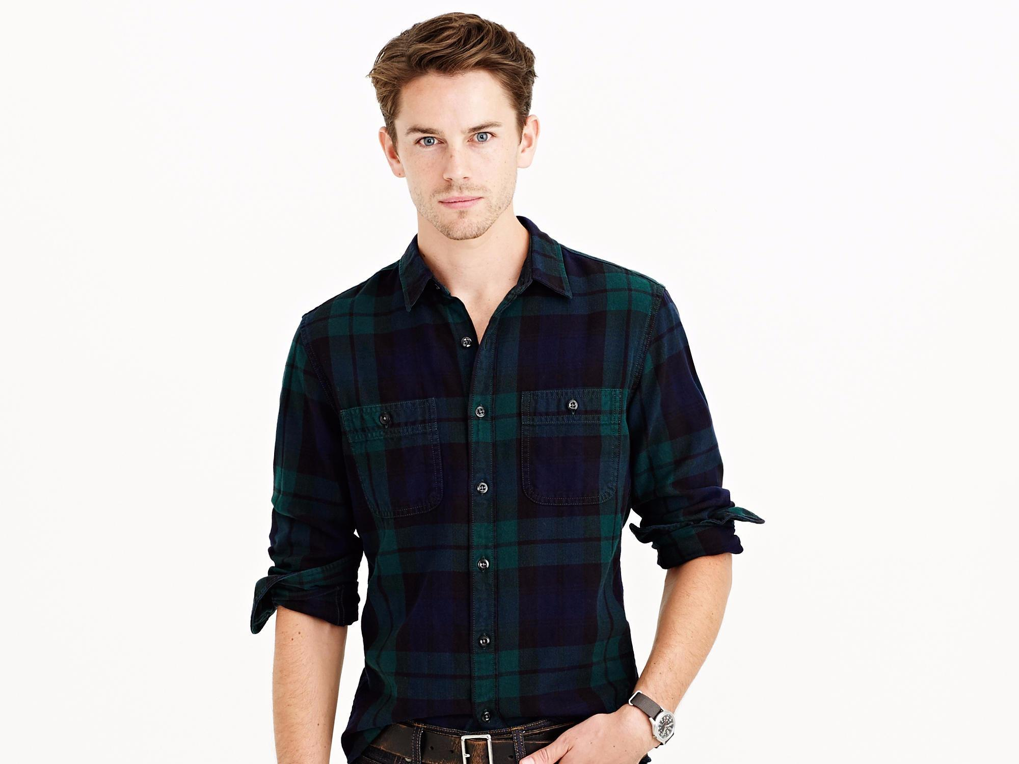 7e4168c8c6 How to wear flannel without looking like a lumberjack