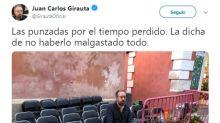 La foto en soledad de Girauta (Ciudadanos) que arrasa en las redes y es carne de memes