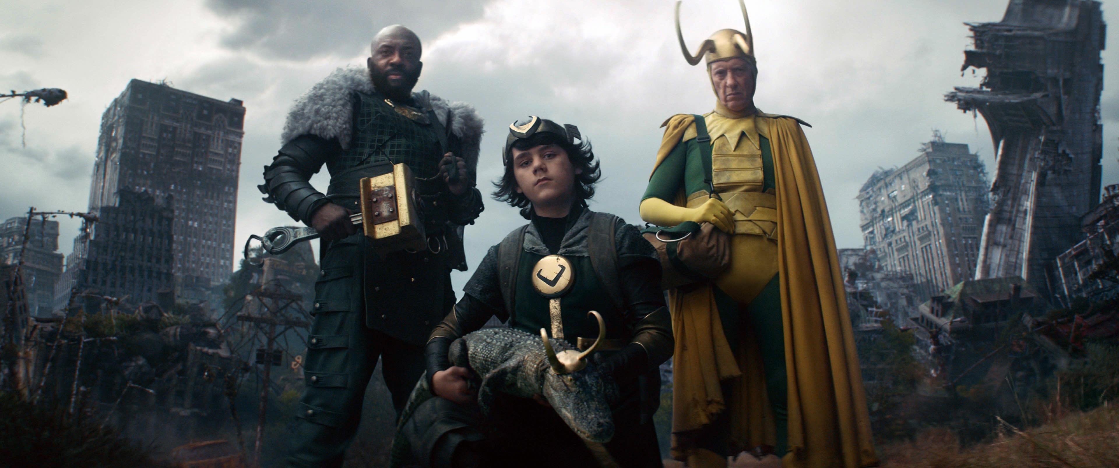 Boastful Loki, Kid Loki, Alligator Loki and Classic Loki