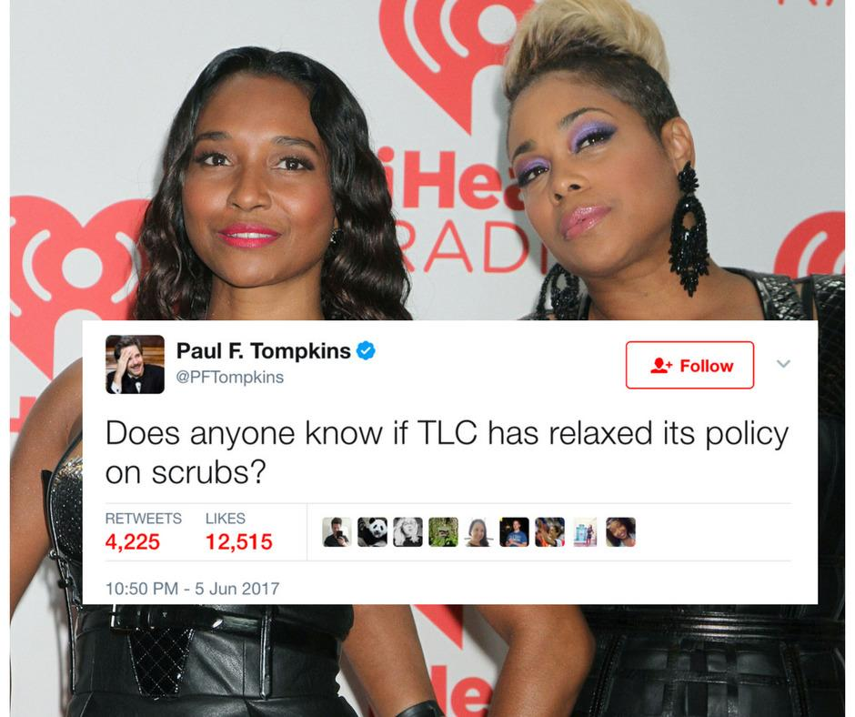 After 18 Years TLC Still Doesn t Want No Scrubs