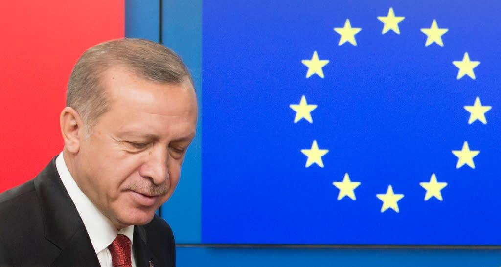 Erdogan has begun 2018 in a more conciliatory spirit (AFP Photo/OLIVIER HOSLET)