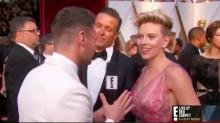"""Scarlett en la alfombra roja: """"¡Qué pregunta tan ridícula!"""""""