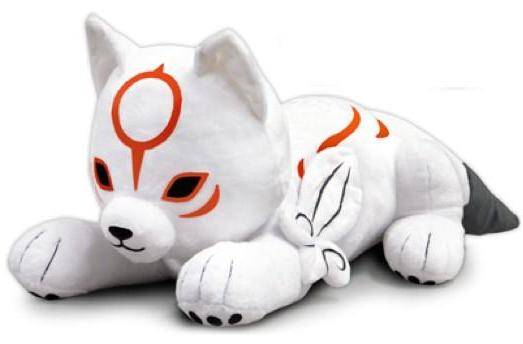 Chibiterasu plush will paint a smile on your face