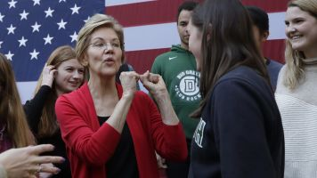 Boxed in? Warren confronts tough politics of health care