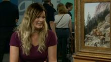 Woman finds out her $250 painting is actually worth $300,000