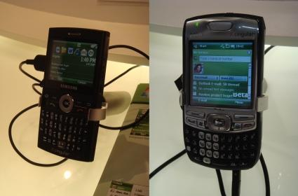 Treo 750, BlackJack with Windows Mobile 6 in the wild