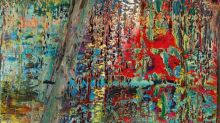 German artist Gerhard Richter shakes up the auction market in Asia