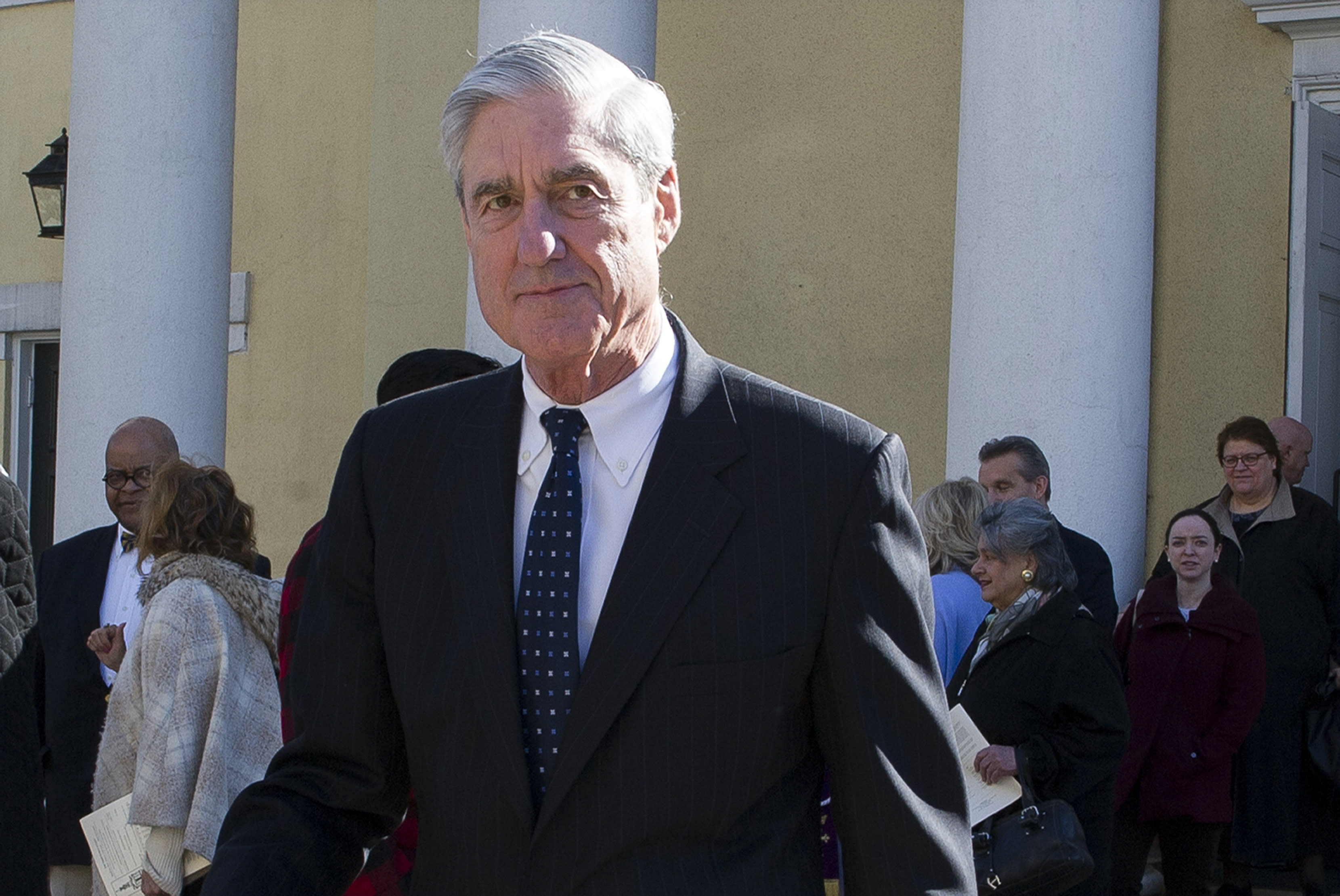 The Latest: Mueller frustrated by Barr summary