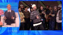 Justin Timberlake serenades Ellen for her birthday