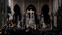 PHOTOS: Inside Notre Dame Cathedral