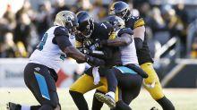 Jaguars scoop, score and taunt on wild 50-yard fumble return