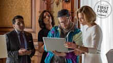Long Shot first look: Charlize Theron, Seth Rogen dive into international affairs