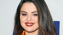 Selena Gomez's Pumpkin Spice-Colored Dress Is a Lesson in Autumnal Dressing