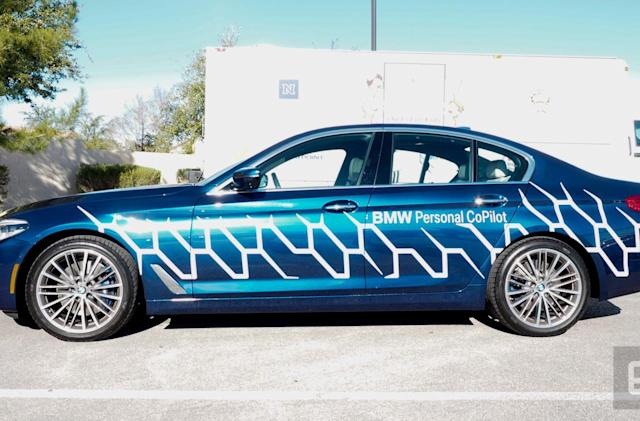 BMW shows off what else you could be doing in a self-driving car