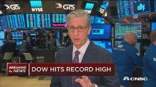 Dow hits record high at market open